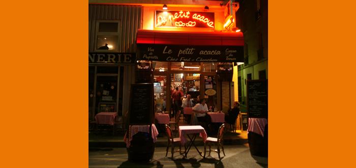 Le petit acacia bistros of paris for Le petit salon paris