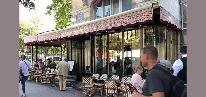 The Sarah Bernhardt café Place du Châtelet